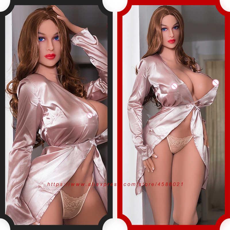 Boneca de sexo bunda grande real silicone amor boneca viver como masculino corpo inteiro silicone sexo boneca longos mamilos grandes mamas 170cm mulher para homem