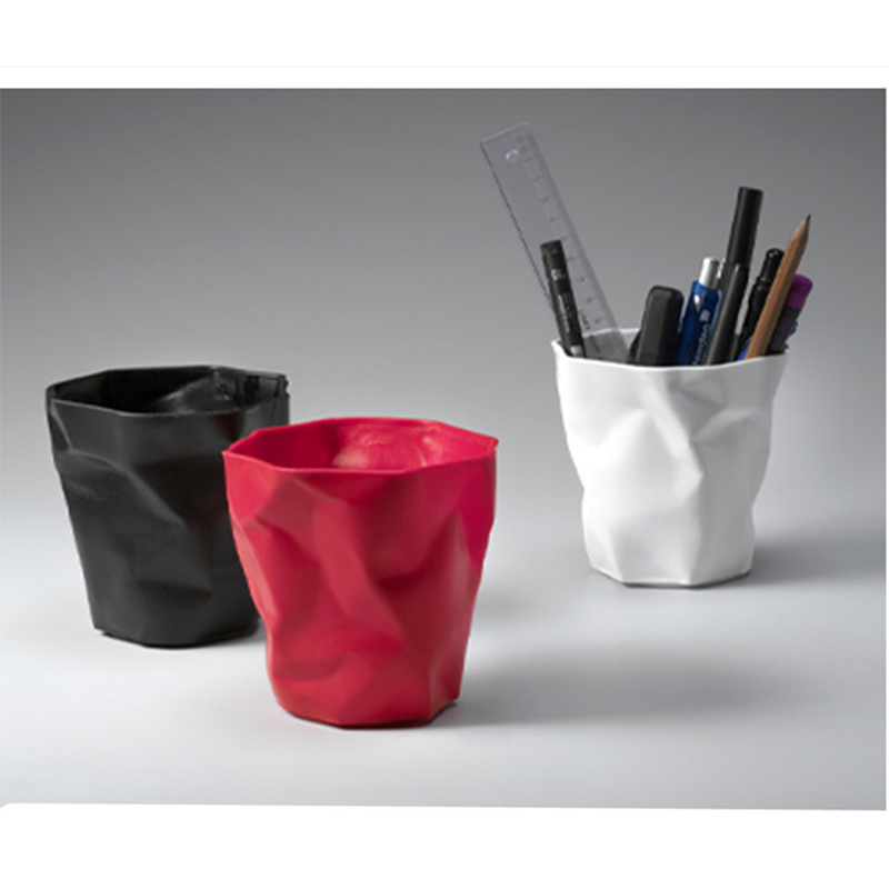 3 Color Pen Pencil Pin Gel Pen Ball Piont Pen Desk Organizer Stationery Holder, Flower Pot