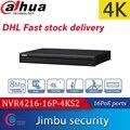 Видеорегистратор Dahua POE NVR 16PoE  4K  H.265  16 каналов  1U порты Lite  разрешение до 8 МП