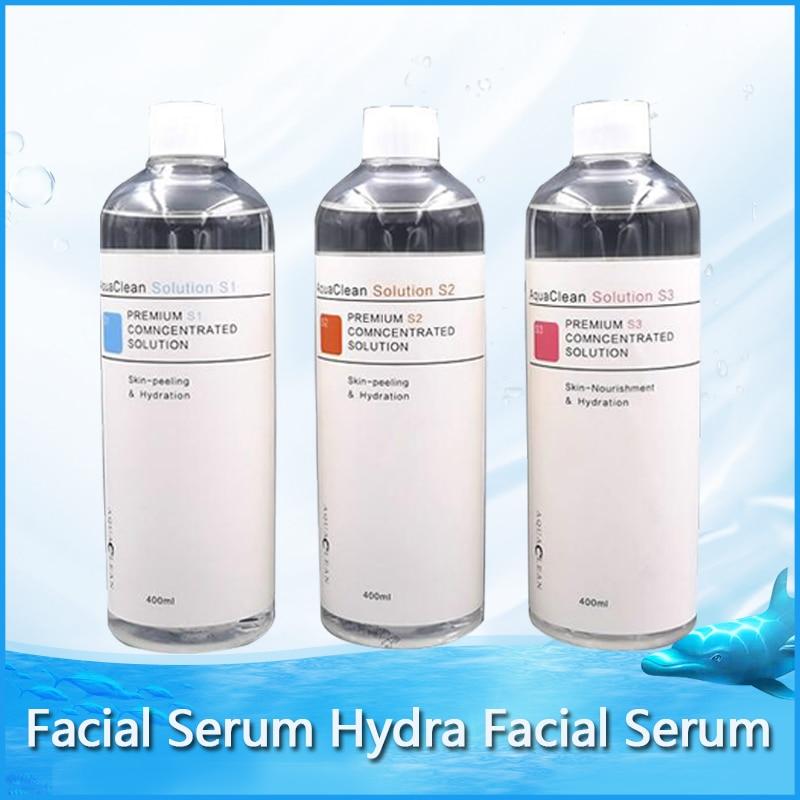 2020 Hot Sale !!! Aqua Clean Peel Solution 400ml Per Bottle Aqua Facial Serum For Normal Skin Care
