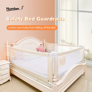 Image 1 - folding safety baby security gate child bed rails crib  fence for babies barrier childrens playpen kids corral playground  baby