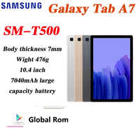 Tableta Galaxy Tab A7, Tablet M-T500, T505, PC, Android, pantalla completa de 10,4 pulgadas, aprendizaje