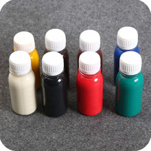 5 pcs*60ml of various color edge oil DIY handmade leather art tools Leather banding