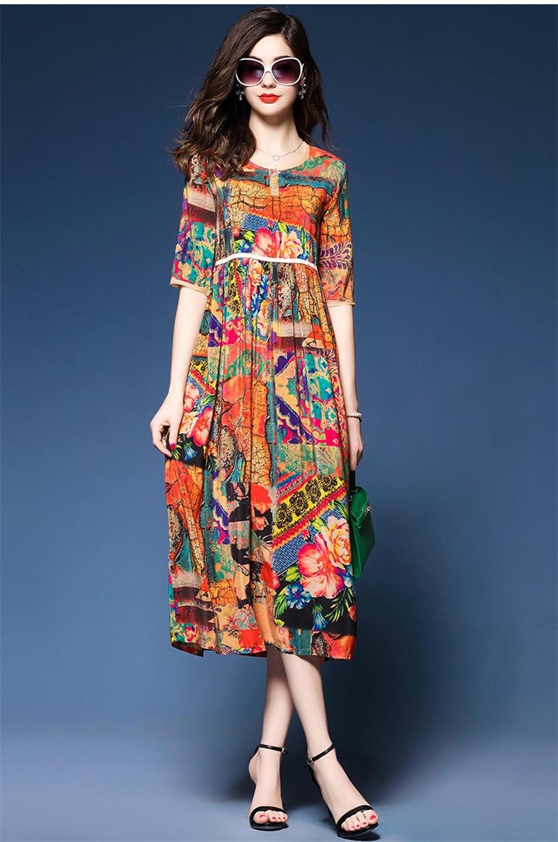 Silk Dress Women Ethnic  3