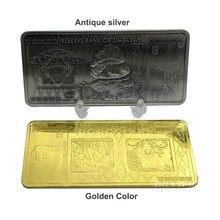 Самые большие в мире банкноты с надписью, Зимбабве сувенирные Серебристые 100 триллиона 1 шт./лот