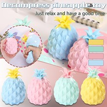 Office Pressure Release Antistress Toy Simulation Flour Pineapple Fidget Toys Stress Balls Decompression Toy Toys For Children cheap CN(Origin) Maternity 7-12y Decompression slow rebound toy none Sports Drop shipping Toy for kids fun toy 2021 Toys Wholesale