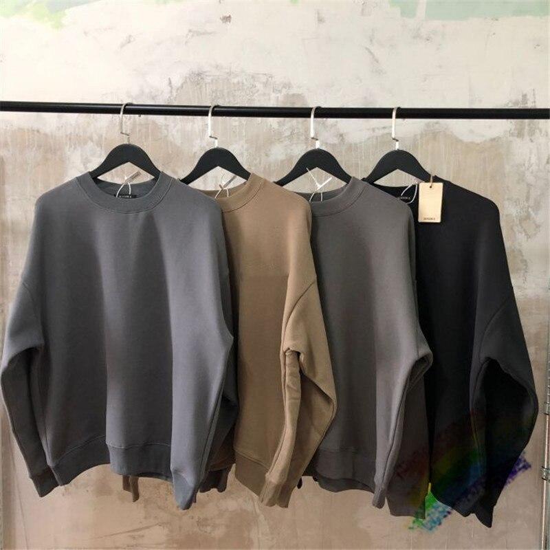 Kanye west temporada 6 sweatshirts masculino feminino 11 alta qualidade moletons calabasas pesado tecido moletom com capuz