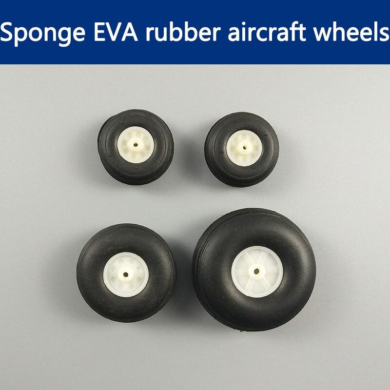 2 par venda topo moda composto material hubsan servo tarot pneu/50/63.5 31/38 5/6.35 3/3.8mm esponja pneu/cm de diâmetro