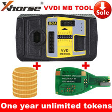 One Year Ulimited Token Xhorse VVDI MB BGA TooL V5.0.5 for Benz Key Programmer VVDI MB Tool + for Benz FBS3 Keyless PCB