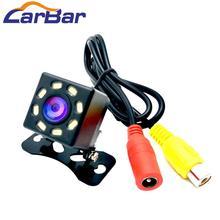 Carbar Автомобильная камера заднего вида Водонепроницаемая 8 светодиодный светильник