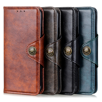 Flip Case Classic Wallet Book Cover for OPPO A72 Case Leather Card Slot Funda OPPO A52 A53 A73 A92 A93 A 72 52 Case Shockproof