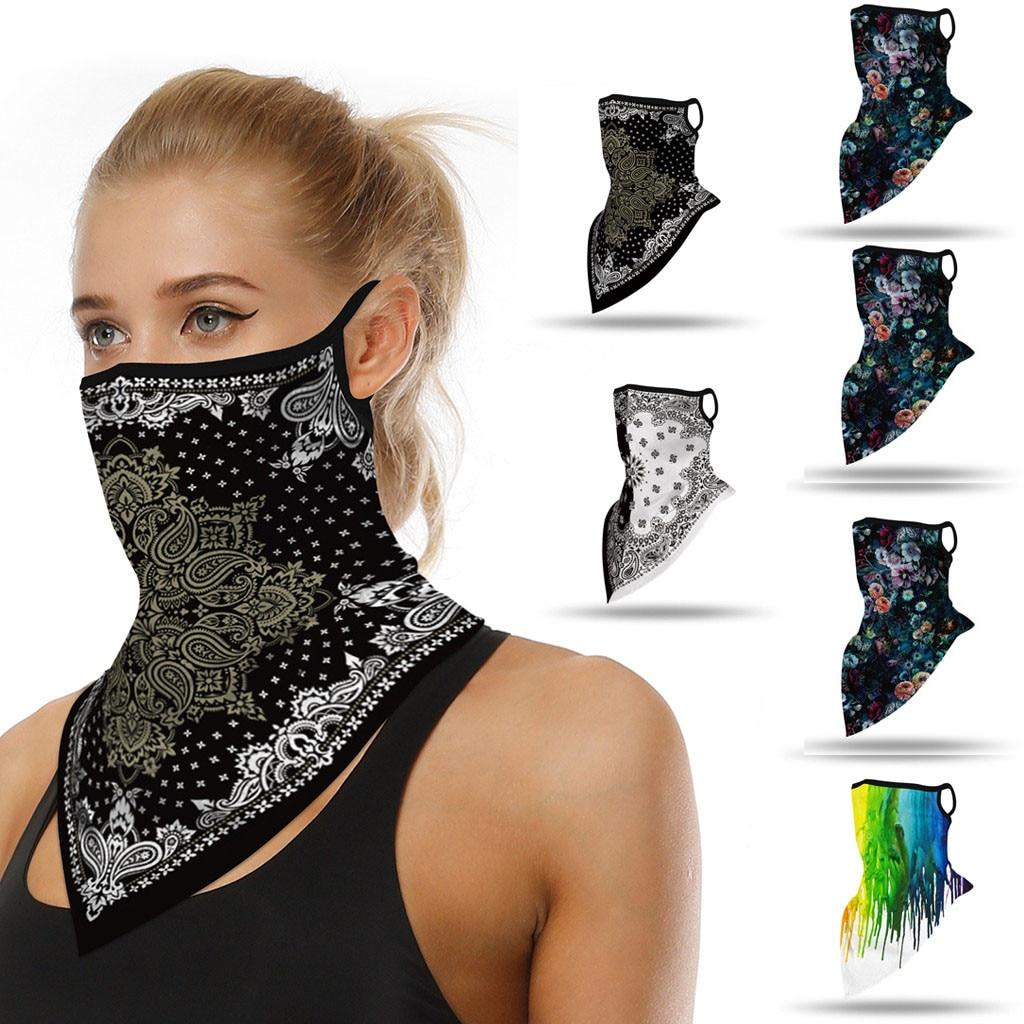Outdoor Print Seamless Ear Scarf Sports Scarf Neck Tube Face Dust Riding Scarf Outdoor Foulard Bandana бандана Handkerchief 2020