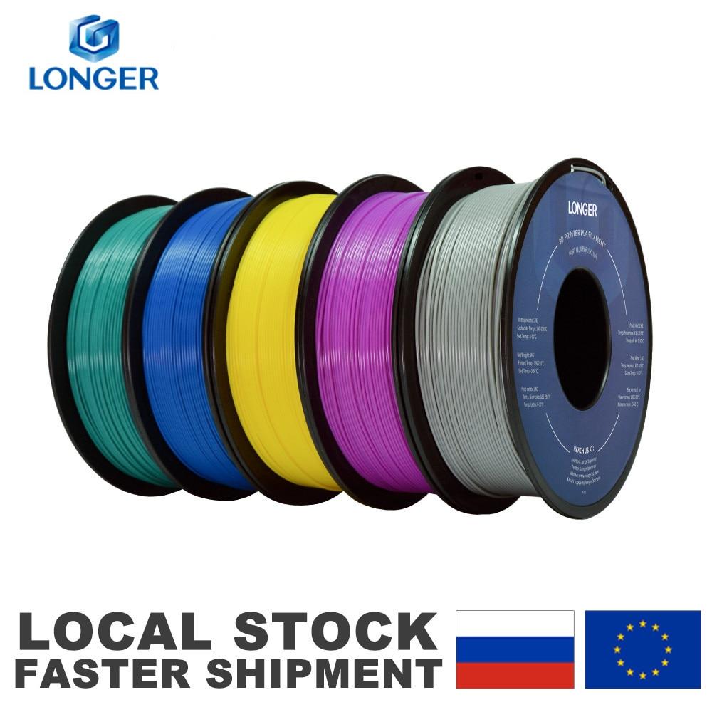LONGER PLA 필라멘트 3D 프린터 용 1.75mm PLA 롤 당 1KG 3D 인쇄용 PLA 소재 필라멘트 pla 3d 프린터 필라멘트