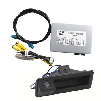 NEW-Car Rear View Camera Interface For-BMW 3 Series E90/E91/E92/E93 09-11 Sn CIC System Reversing Camera Decoder Module image