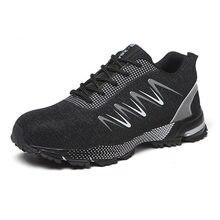 Неразрушаемая обувь для мужчин; Безопасная рабочая со стальным