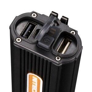 Image 5 - 2020 Topsale Nitecore HC70 1000 Lumens USB Rechargeable LED Headlamp 2x18650 External Battery Pack Waterproof High Head Lights