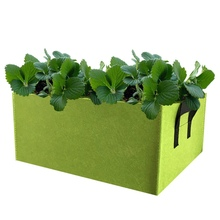 Прямоугольная Нетканая сумка для выращивания растений переносной для растений контейнер многоцветные товары для сада на открытом воздухе