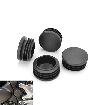4Ppcs High Quality Motorcycle Frame Hole Cover Caps Plugs Decor Set For Kawasaki Z900RS Z900 RS 2017 2018 2019 2020 Accessories motorcycle adjustable rider rear set rearsets footrest foot rest pegs for 2018 2019 kawasaki z900rs z900 rs accessories