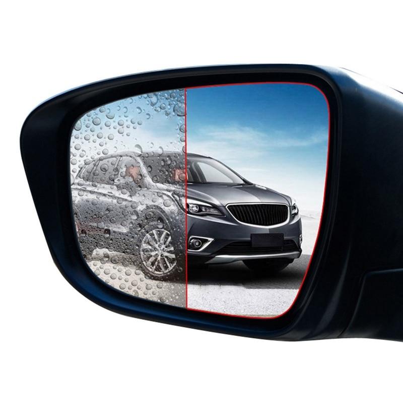 2 шт/компл задняя зеркальная защитная пленка для автомобиля
