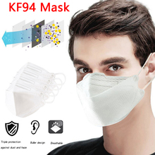 100pcs KF94 Face Mask 4 Layer virus infection Protection Face Mouth Mask Breathable Anti Dust Month Cover Individal Package KN95 tanie tanio China Festland Anti-Staub Eine zeit Erwachsene Non-woven Anti Pollution Mask 1 10 20PCs