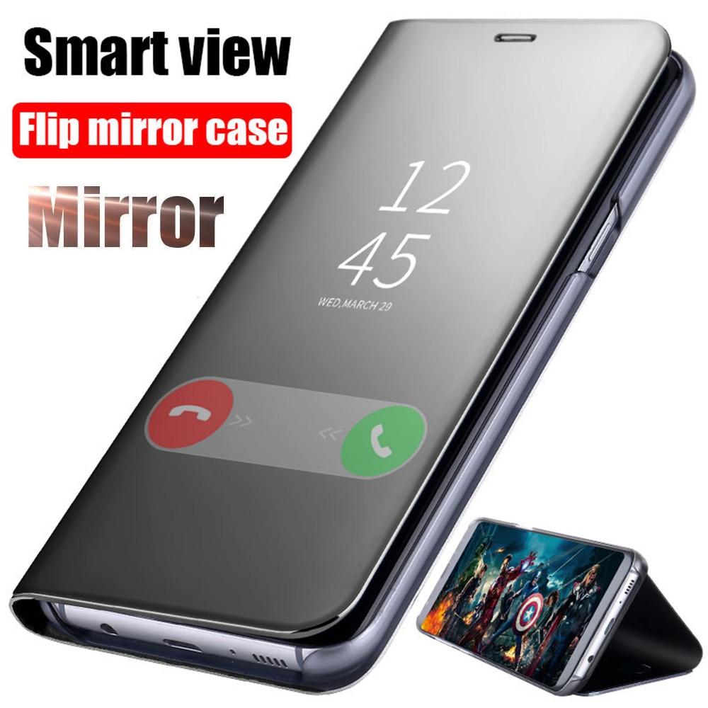 Flip-Case Mirror Go-Cover Redmi Note-7 K20 Pro Smart Luxury Xiaomi 6A for Note-7/5/6/..