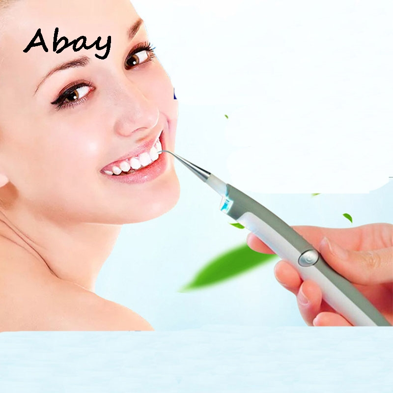 Abay Tooth Care Tool Electric Ultrasonic Tooth Stain Eraser Plaque Remover Dental Tool Teeth Whitening Dental Cleaning Scaler