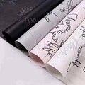 10 teile/los 50x70cm Brief Gedruckt Tissue Papier Für Verpackung Verpackung Dekorative Papiere Karte, Die DIY Handgemachten Handwerk