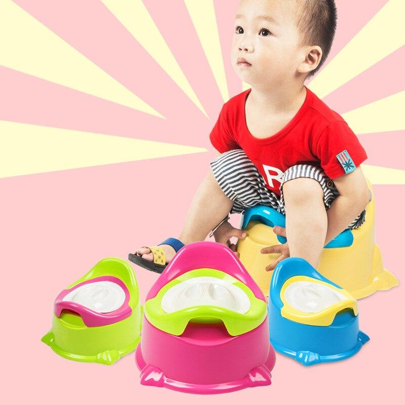 Infants Bedpan Contrast Color Baby Shit Basin CHILDREN'S Toilet Universal Plastic Toilet