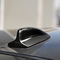 Car Roof Antenna Shark Fin Antenna Cover Sticker Trim For BWM E46 E90 E92 E60 Car Decorative Sticker Cover Sticker Trim