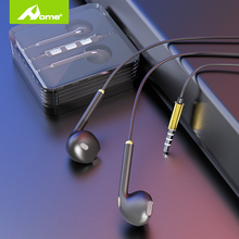 ב אוזן Wired אוזניות עם מיקרופון אוזניות עבור iPhone Apple רעש ביטול אוזניות אוזניות בניצני אוזן 3.5mm אוזניות
