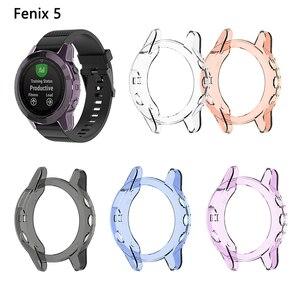 Image 5 - TPU ป้องกันสำหรับ Garmin Fenix 5 5S PLUS Smart Watch อุปกรณ์เสริมป้องกันการกระแทกเปลือกป้องกันฝุ่น