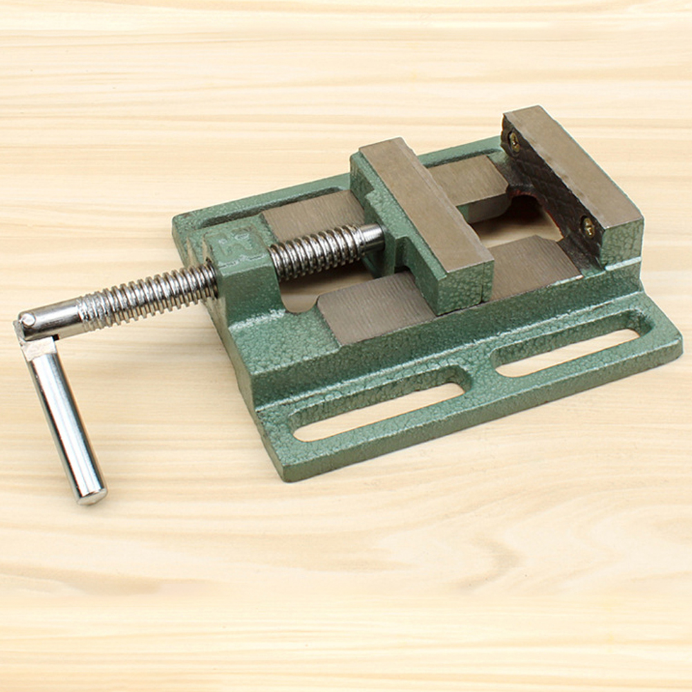 3 Inch Drill Press Vice Bench Clamp Flat Tongs Vise Drilling Machine Stand Flat Nose Pliers Flat Nose Pliers Vise Drill Vices 26