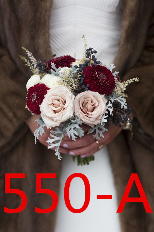 Bride Married All Kinds Of Holding Flowers 3205 EF