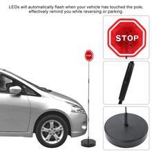 Безопасность парковочные стоп Знак мигающий светодиодный Предупреждение ющий датчик бампера для гаражного порта