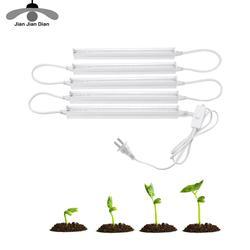 CFL LED Gesamte Spektrum Wachsen Licht Rohr Lampada 30W 50W 80W Indoor-Anlage Lampe 110V 220V IR UV Hydrokultur System Blüte Garten