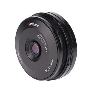 Image 2 - 7 Ambachtslieden 35Mm F5.6 Lens Full Frame 2ED Licht Gewicht Ultra Dunne Mf Pan Focus Camera Lens Voor leica L Sony E Nikon Z Mount Camera