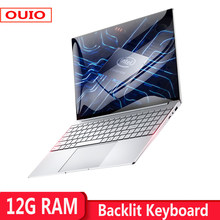 Notebook Computer 12GB RAM 1TB 512GB 256GB 128GB SSD Laptop With Backlit Keyboard IPS Display Windows 10 For Students Office