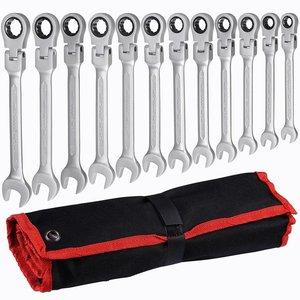 Image 2 - Multitool Wrench Ratsche Schraubenschlüssel Hand Werkzeuge Wrench Set Universal Auto Schlüssel Auto Reparatur Werkzeuge