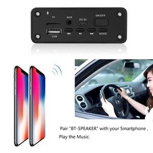 Image 5 - Kebidu mãos livres mp3 player decodificador placa 5v bluetooth 5.0 2*3w amplificador de carro fm módulo de rádio suporte fm tf usb aux gravadores