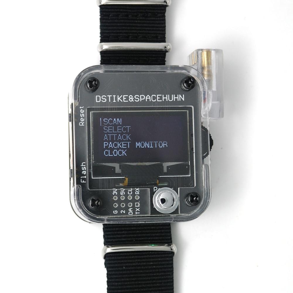 DSTIKE WiFi Deauther V1 V2 V3 браслет носимый ESP8266 Плата развития Смарт-часы DevKit Arduino NodeMCU ESP32 IoT
