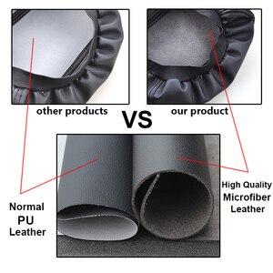 Image 3 - Funda para reposabrazos Central de coche, protección para consola Central, Funda de cuero, accesorios de estilismo para coche, para Hyundai Creta ix25 2013 2019