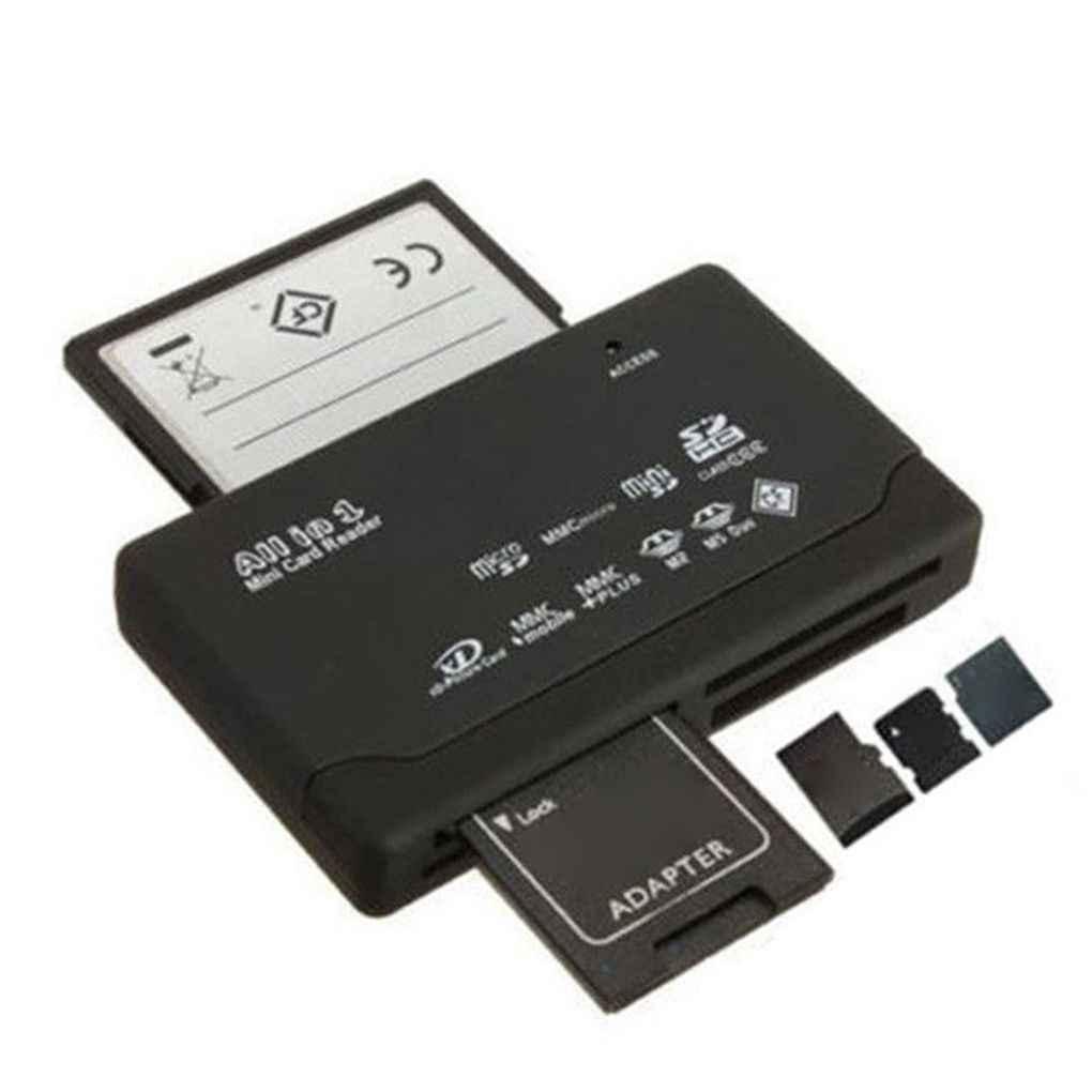 Tất Cả Trong Một Đầu Đọc Thẻ TF MS M2 XD CF Micro SD Carder Đầu Đọc USB 2.0 480Mbps Đầu Đọc Thẻ nhớ Mini CardReader Với Đường Đổi Ngày