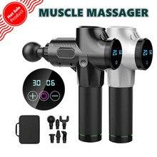 Muscle Massage Gun Body Massager Therapy Massager Exercising Muscle Pain Relief Body Muscle Relax Massager цена 2017