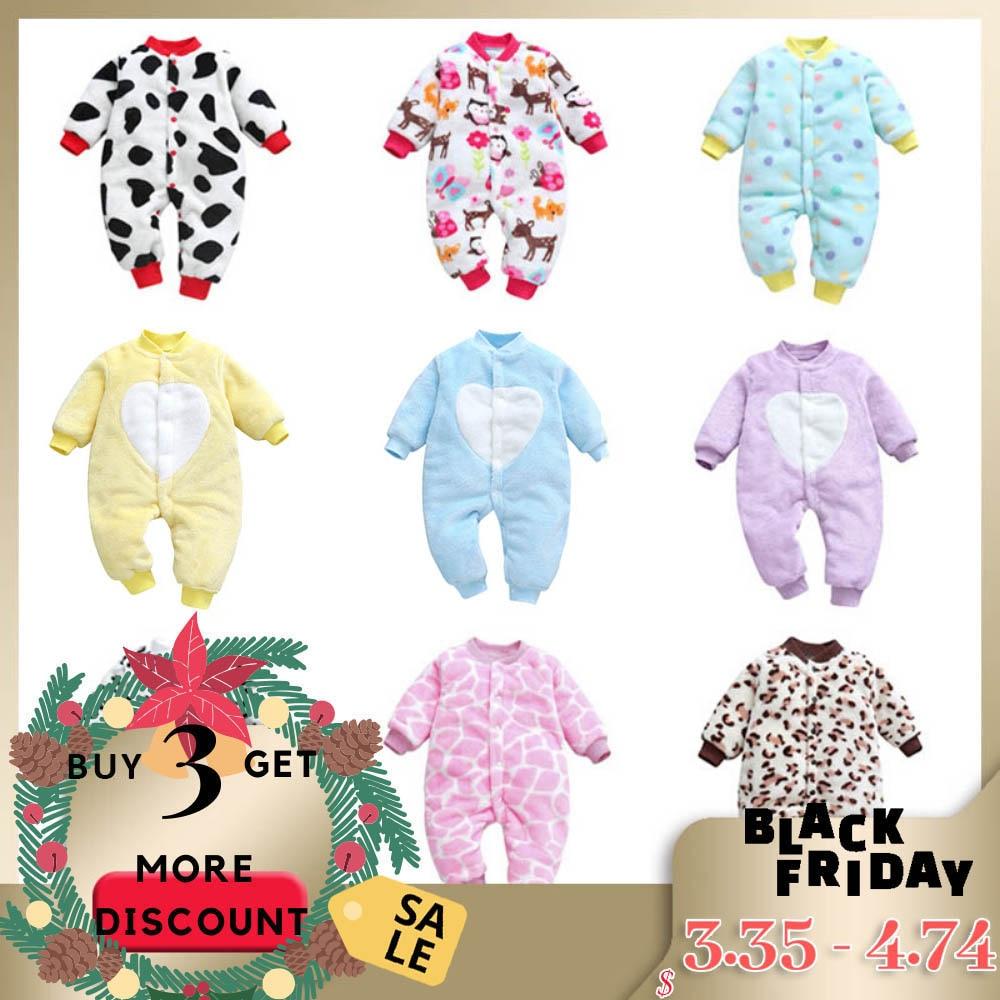 3pcs Newborn Baby Boys Girls Outfits Clothes Elephant Romper Pants 1Set 6-24M UK