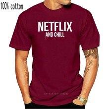 Netflix e frio engraçado piada tendência qualidade premium t-camisa-até 5xl