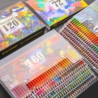 72/120/160/180 Farben Professionelle Farbige Bleistifte Set Künstler Malerei Skizzieren Aquarell Bleistift Kunst Liefert