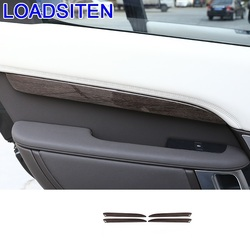 Auto Automovil samochodów sterowania panel systemowy wykończenie wnętrza listwy ozdoba akcesoryjna 17 18 19 dla Land Rover Discovery 5 w Naklejki samochodowe od Samochody i motocykle na