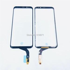 Image 2 - Novecel do Samsung Galaxy S8 plus G955 Note8 N950 ekran dotykowy Panel szkło Digitizer czujnik szklany ekran dotykowy wymiana