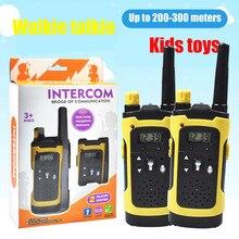 2 шт Беспроводная рация детская электронная игрушка портативная дальняя дистанция приема Беспроводная двухсторонняя радио детская игрушка Woki Toki