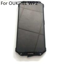 Oukitel WP2使用されるlcdディスプレイ画面 + タッチスクリーン + フレームoukitel WP2 MT6750Tオクタコア6.0インチ2160*1080 hdスマートフォン